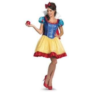 Deluxe Sassy Snow White Adult Costume, 802621