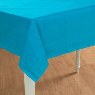 Turquoise Paper Tablecover   Costumes, 57294