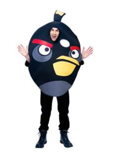 Unisex Adult Angry Birds Black Bird Costume TV and Movie Costume at