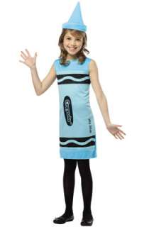 Crayola Sky Blue Tank Dress Child Costume (7 10) for Halloween   Pure