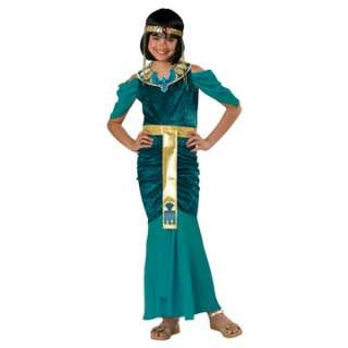 Egyptian Jewel Child Costume   Includes dress, collar, headpiece, and