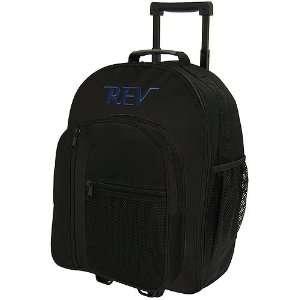 Rev Single Roller Black Bowling Bag