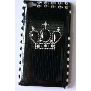 Koolshop JC Black Crown iPod touch 4 4g 4th generation back case cover