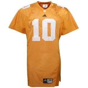 adidas Tennessee Volunteers #10 Orange Authentic Football