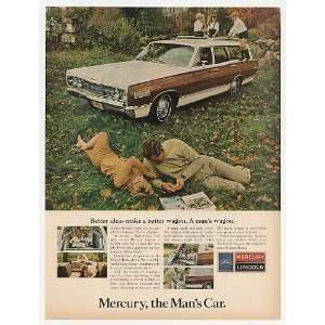 1967 Mercury Colony Park Wagon the Mans Car Print Ad