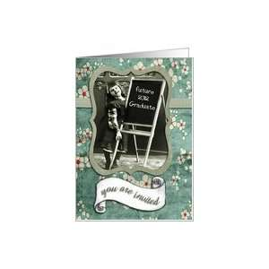 , 2012 college graduation party, vintage girl Card: Toys & Games