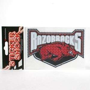 Arkansas High Performance Decal   Razorbacks Over Hog