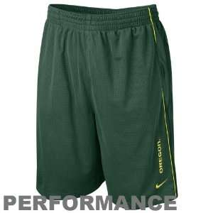 Nike Oregon Ducks Green Million Dollar Mesh Performance Shorts: