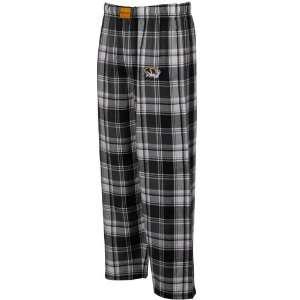 Black White Plaid Legend Flannel Pajama Pants (Large) Sports