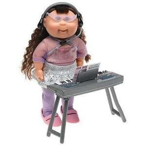 Cabbage Patch Kids Mini Dolls   Pop Stars Collection   Dark Hair Girl
