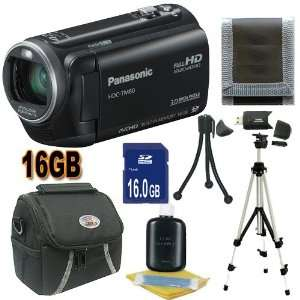 Camcorder (Black) 16GB SDHC Accessory Saver Bundle
