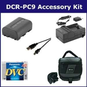 Sony DCR PC9 Camcorder Accessory Kit includes DVTAPE Tape