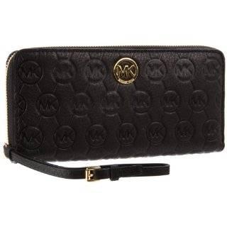 Michael Kors Handbag, Jet Set Checkbook Wallet Black 32F1GJSEL Shoes