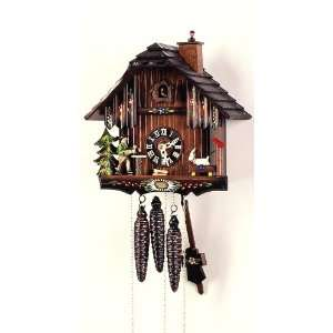 Cuckoo Clock Black Forest House, Goat, Chimney Sweep Home & Kitchen