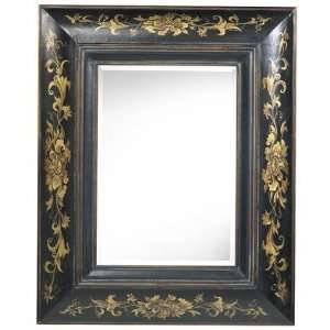 Cooper Classics Colby Wall Mirror in Distressed Black 4792