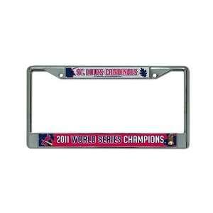 MLB St. Louis Cardinals World Series Champions Chrome