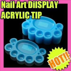 10 Blue Nail Art Mix Color Palette Paint Diy 060 Beauty