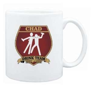 Chad Drink Team Sign   Drunks Shield  Mug Country