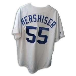 Orel Hershiser Signed Los Angeles Dodgers Jersey