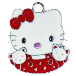 12X DIY Jewelry Making Hello Kitty w/ bear pals enamel