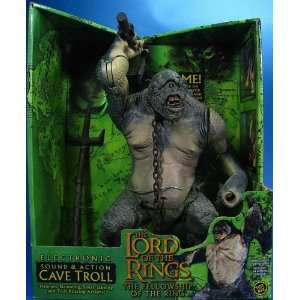 Rings Deluxe Sound and Action Cave Troll Action Figure Toys & Games