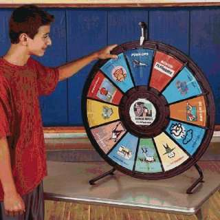 Tables And Games Board Games Tabletop Fitness Wheel: Sports & Outdoors