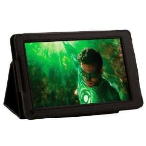 Folio PU Leather Case Cover For  Kindle Fire 7 Tablet Black