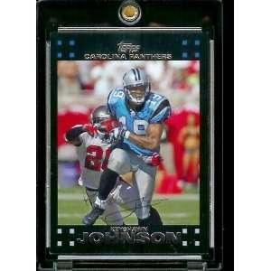 Football # 125 Keyshawn Johnson   Carolina Panthers   NFL Trading