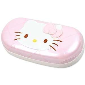 Kitty] eye glasses case pink star quilt series part 4  Toys & Games