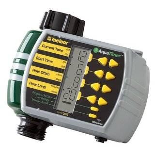 Electronic AquaTimer Digital Dual Hose Timer Patio, Lawn & Garden