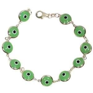 Transparent Light Green Bracelet Icy