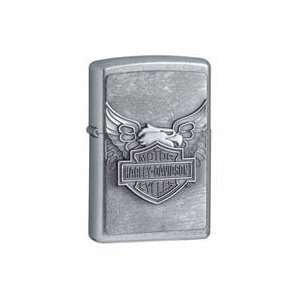 Zippo Harley Davidson Iron Eagle Emblem Street Chrome Lighter