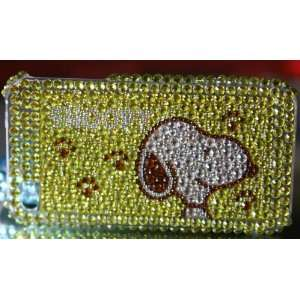 Hello kitty ipod touch 4g rhinestone cover ribbons back case