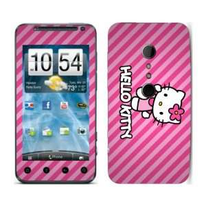 Meestick Hello Kitty Stripes Vinyl Adhesive Decal Skin for
