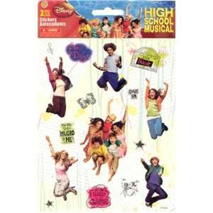 Disney High School Musical Sticker Large Two Sheet Pack Toys & Games