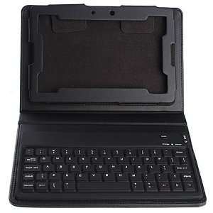 Wireless Bluetooth Keyboard Leather Case Cover with Stand