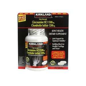 Kirkland Signature Extra Strength Glucosamine and Chondroitin   170
