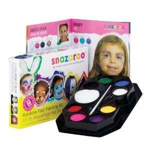 Snazaroo Face Painting Kit, Rainbow Arts, Crafts & Sewing