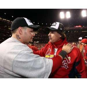 , Tony La Russa, St. Louis Cardinals, World Series Game 7, 10/28/2011