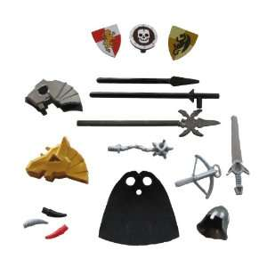 Lego Knight Weapon and Armor Accessory Kit (Castle/Kingdom