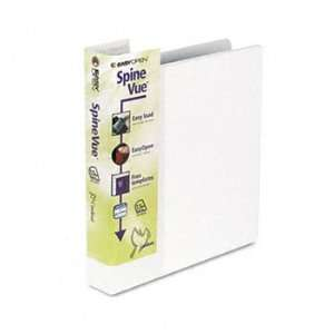 EasyOpen Locking Slant D Ring Binder, 1 1/2 Capacity, White CRD19113