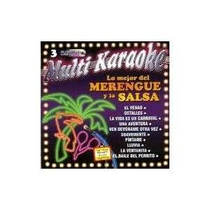 Karaoke Music CDG MultiKaraoke OKE 0003 LO MEJOR DEL MERENGUE