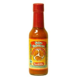 Castillo Habanero Hot Sauce Red, 5 Ounce: Grocery & Gourmet Food