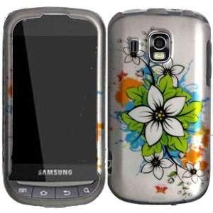 White Splash Hard Case Cover for Samsung Transform Ultra