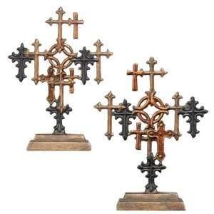 Pack of 4 Decorative Religious Multi Color Table Top