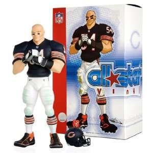 Brian Urlacher (Dark Navy Blue Uniform):  Sports & Outdoors