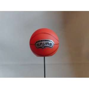 San Antonio Spurs NBA Team Logo Antenna Topper  Sports