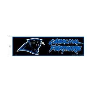 Carolina Panthers NFL Bumper Sticker Decal
