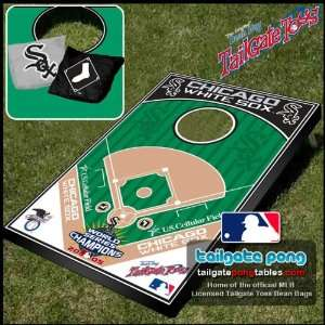 Chicago White Sox MLB Baseball Tailgate Toss Cornhole Game