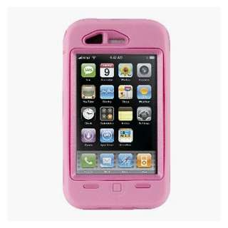 Otterbox Defender Series 3G Iphone Case Pink Cell Phones